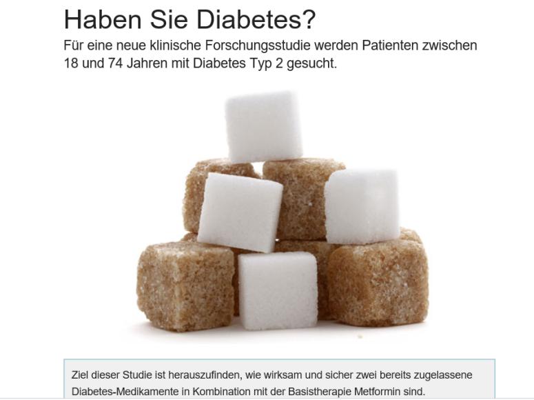 diabetesstudie